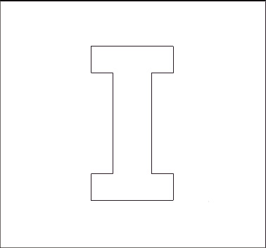 Alphabet Stencils on Printing Letter P Worksheet