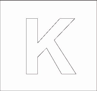 Alphabet Stencils | All Kids Network