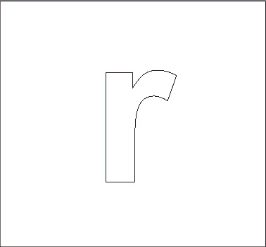 Alphabet Stencils All Kids Network