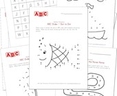 Alphabet Worksheets All Kids Network - 27+ Writing Alphabet Printable Writing Alphabet Kindergarten Worksheets PNG