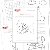 Worksheet Alphabet Worksheets For Preschool alphabet worksheets for preschool children all kids network