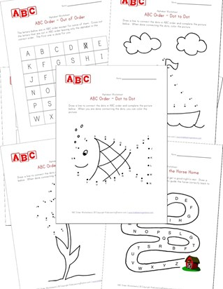 abc order worksheets
