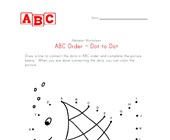 abc fish dot-to-dot