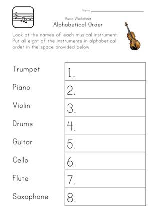 alphabetical order worksheets abc order all kids network