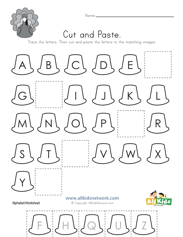 Alphabet Letters To Cut And Paste - Infoupdate.org