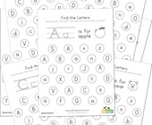 Alphabet Worksheets All Kids Network