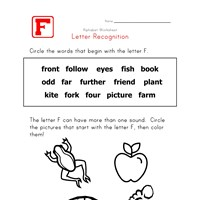 Words that start with the letter F