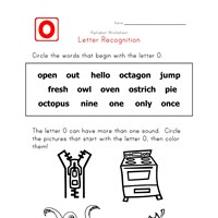 Words that start with the letter O