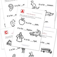 Worksheet Letter Recognition Worksheets alphabet worksheets for kids letter recognition all network
