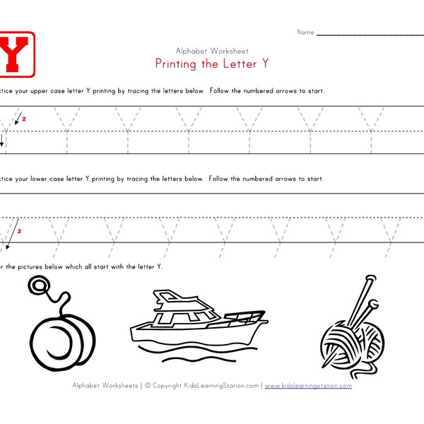 Number Names Worksheets » Traceable Alphabet - Free Printable ...
