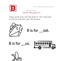 Words that start with the letter B