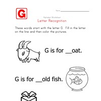 Words that start with the letter G