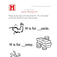 Words that start with the letter M
