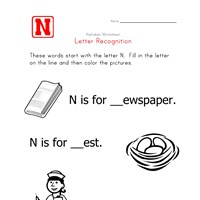Words that start with the letter N