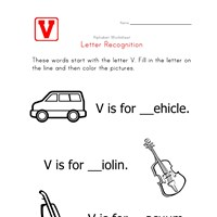 Words that start with the letter V