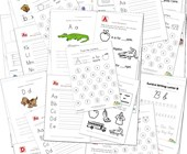 Worksheets by Letter