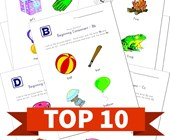 Top 10 1st Grade Beginning Consonants Kids Activities