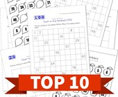 Top 10 1st Grade Fill in the Missing Numbers Kids Activities