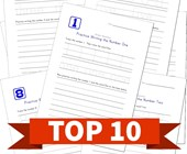 Top 10 1st Grade Practice Writing Numbers Kids Activities