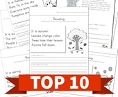 Top 10 1st Grade Reading Comprehension Kids Activities