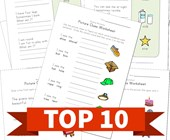 Top 10 1st Grade Word and Picture Clues Kids Activities