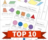 Top 5 2D Shapes Kids Activities