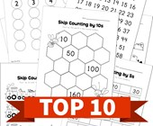 Top 10 2nd Grade Skip Counting Kids Activities