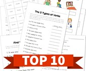 Top 10 2nd Grade Verbs Kids Activities