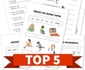 Top 5 4th Grade Verbs Kids Activities