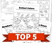 Top 5 Animals Themed Numbers 1 - 10 Kids Activities
