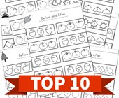 Top 10 Before and After Numbers Kids Activities
