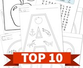 Top 10 By Letter Printable Activities