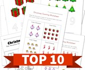 Top 10 Christmas Numbers Kids Activities