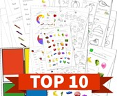Top 10 Colors Kids Activities