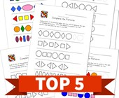 Top 5 Complete the Patterns Kids Activities