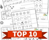 Top 10 Cut and Paste Patterns Kids Activities