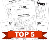 Top 5 Draw and Find Shapes Kids Activities