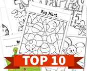 Top 10 Easter Printable Activities
