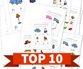 Top 10 Ending Consonants Kids Activities