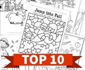 Top 10 Fall Printable Activities