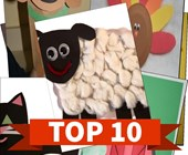 Top 10 Farm Animals Crafts