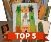 Top 5 Father's Day Picture Frames Themed Kids Activities