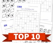 Top 10 Fill in the Missing Numbers Kids Activities