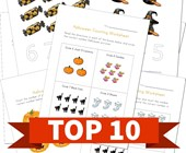 Top 10 Halloween Numbers Kids Activities
