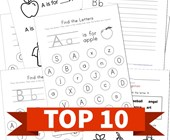 Top 10 Kindergarten By Letter Kids Activities