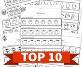 Top 10 Kindergarten Color the Patterns Kids Activities