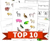 Top 10 Kindergarten Left and Right Kids Activities