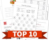 Top 10 Kindergarten Letter B Kids Activities