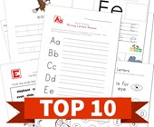 Top 10 Kindergarten Letter E Kids Activities