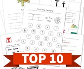 Top 10 Kindergarten Letter T Kids Activities